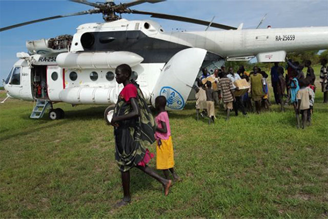 Emergency response to protect conflict-affected displaced populations in Greater Upper Nile from hunger and malnutrition