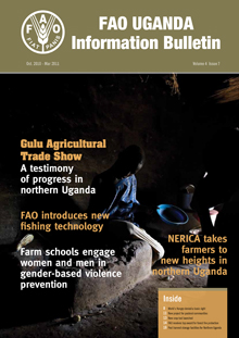 FAO Uganda Information Bulletin - Vol. 4 Issue 7, October 2010 - March 2011