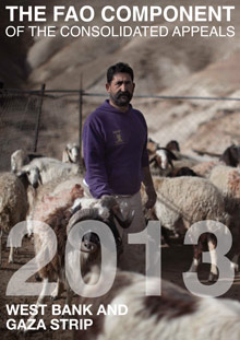 The FAO Component of the Consolidated Appeals 2013: West Bank and Gaza Strip