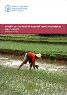 Benefits of farm level disaster risk reduction practices