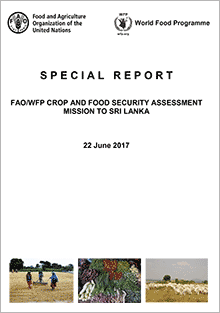 FAO/WFP Crop and Food Security Assessment Mission to to the Sri Lanka, 22 June 2017
