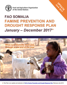 Somalia - Famine prevention and drought response plan January - December 2017