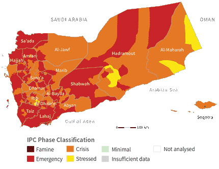 Acute food insecurity situationa without HFA (December 2018–January 2019)