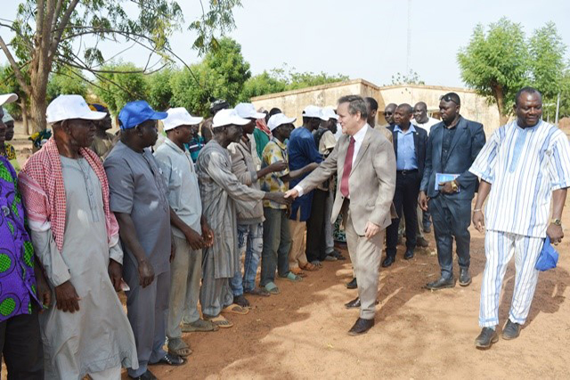 FAO helps to strengthen the resilience of internally displaced persons and their host communities thanks to funding received from the Kingdom of Belgium