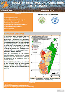 Madagascar - Locust situation bulletin N. 10 - December 2013 (in FRENCH)