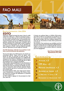FAO Mali - Information bulletin April 2014 (in FRENCH)