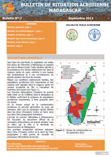 Madagascar - Locust Situation Bulletin N. 7 - September 2013 (in FRENCH)