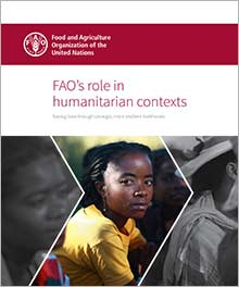 FAO's role in humanitarian contexts