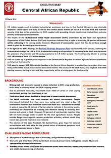Central African Republic - Executive brief 19 March 2014