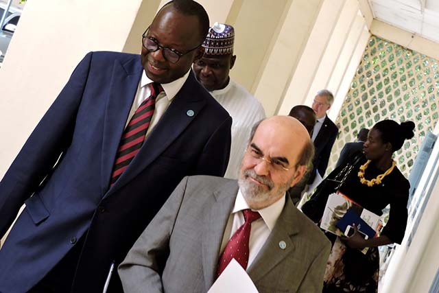 FAO Director-General meets Chad's Prime Minister to discuss critical role of agriculture