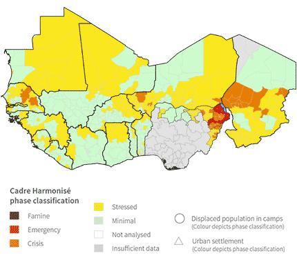 Analyse régionale du Cadre Harmonisé au Sahel