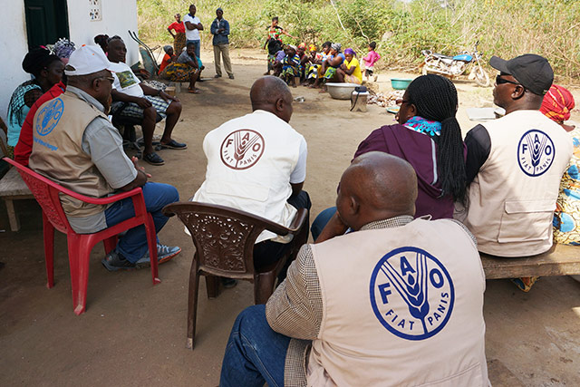 Liberia: reviving agricultural activities of communities affected by the Ebola outbreak