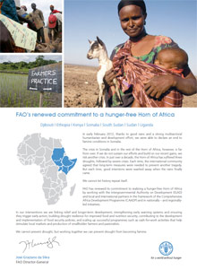 FAO's renewed commitment to a hunger-free Horn of Africa