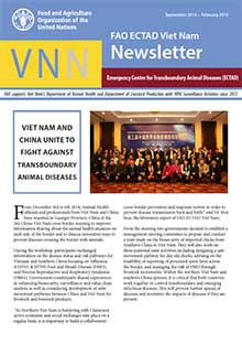 ECTAD Vietnam Newsletter - September 2014 - February 2015