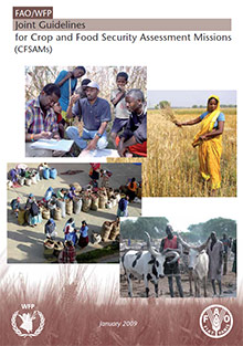 FAO/WFP Joint Guidelines for Crop and Food Security Assessment Missions (CFSAMs)