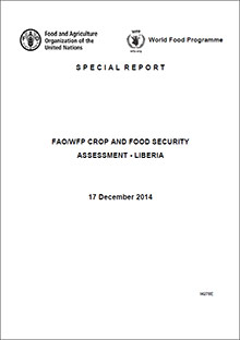 FAO/WFP Crop and Food Security Assessment Liberia, 17 December 2014
