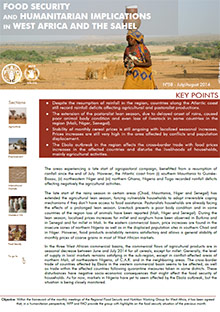 Food Security and humanitarian implications in West Africa and the Sahel - FAO/WFP Joint Note, July/August 2014