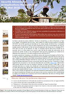 Food security and humanitarian implications in West Africa and the Sahel - FAO/WFP Joint Note, April-May 2015 (in FRENCH)