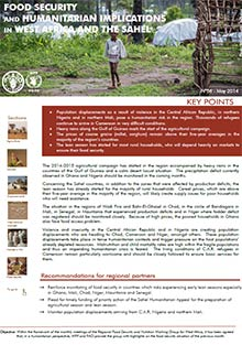 Food Security and humanitarian implications in West Africa and the Sahel - FAO/WFP Joint Note, May 2014