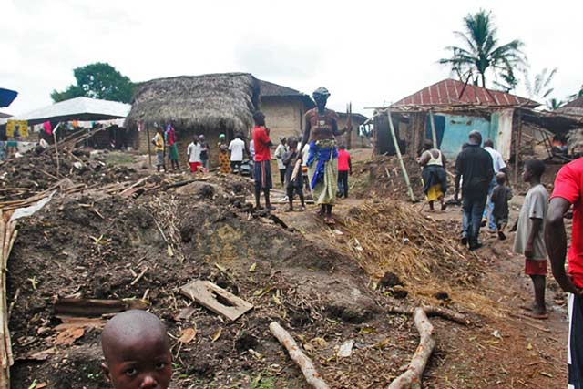 Flood victims in urgent need of assistance in Sierra Leone