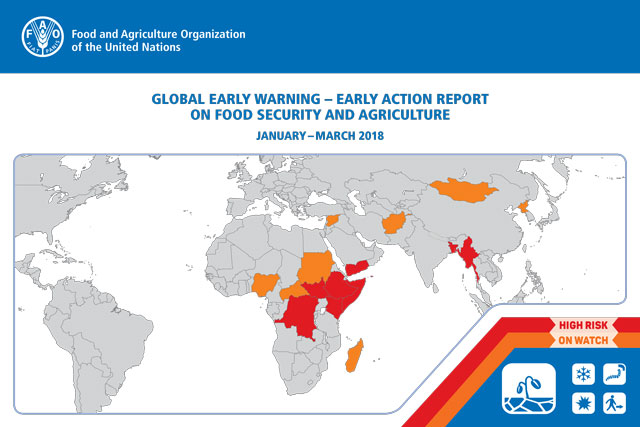 GLOBAL EARLY WARNING – EARLY ACTION REPORT ON FOOD SECURITY