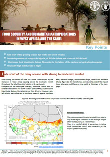 Food Security and humanitarian implications in West Africa and the Sahel - FAO/WFP Joint Note, July 2013