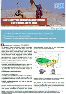 Food Security and humanitarian implications in West Africa and the Sahel - FAO/WFP Joint Note, June 2013
