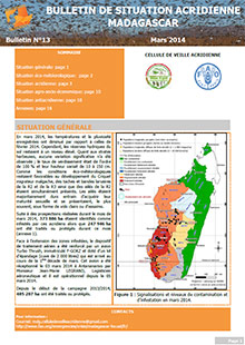 Madagascar - Locust situation bulletin N. 13 - March 2014 (in FRENCH)