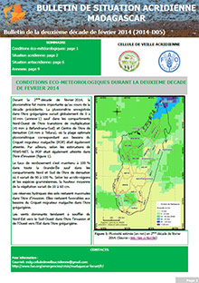 Madagascar - Locust situation bulletin D05 - February 2014 (in FRENCH)