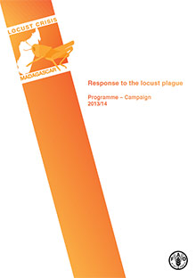 Response to the locust plague in Madagascar: Programme for campaign No.1 (2013/14)
