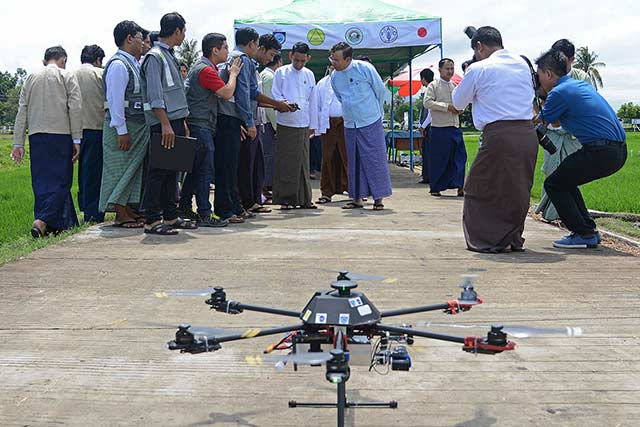 Launch of the MOALI DRR Task force and drone mapping unit