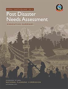 Nepal earthquakes - Post Disaster Needs Assessment Executive Summary