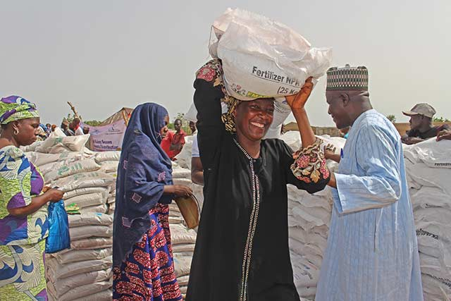 Germany and FAO work together to fight hunger in northeastern Nigeria and Somalia