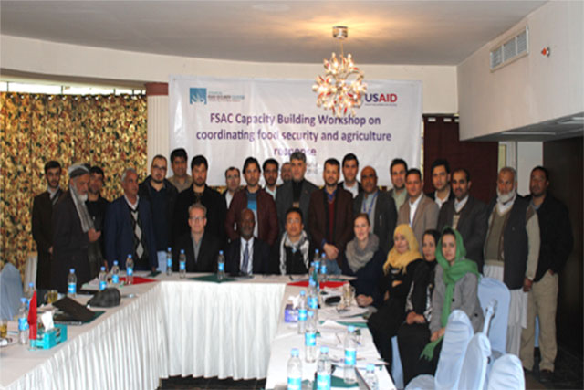 Support for effective, timely and strategic Food Security and Agriculture Cluster coordination in Afghanistan