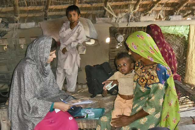 FAO contributes to better planning of humanitarian relief operations in Pakistan