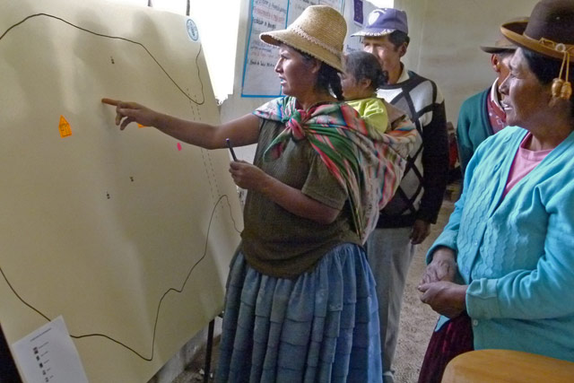 Radio campaigns by FAO in emergencies in Peru