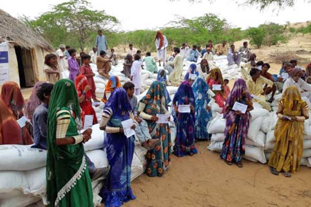 Livelihood Assistance to Support Drought Affected Vulnerable Farmers in Sindh province in Pakistan