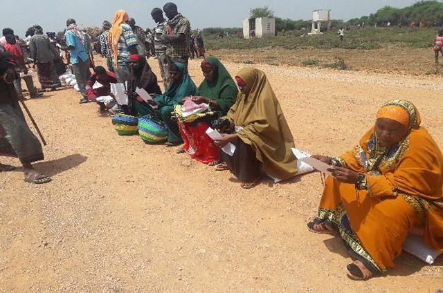 Creating conditions for early IDP returns and rapid recovery from drought in rural Somalia