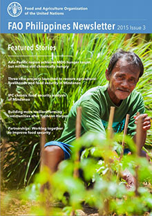 FAO Philippines Newsletter - 2015 Issue 3