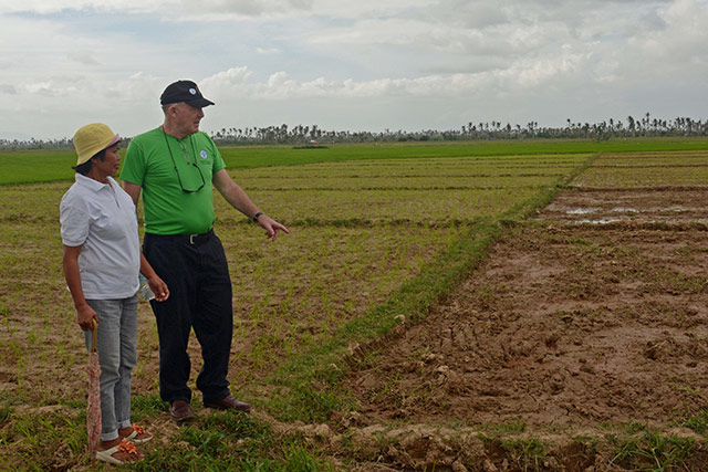 Irish Ambassador applauds Filipino farmers' resilience and expresses commitment to providing longer-term support