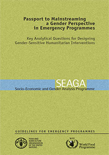Passport to Mainstreaming a Gender Perspective in Emergency Programmes