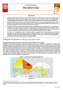 Situation Update: The Sahel crisis 2012 - 1 July 2013
