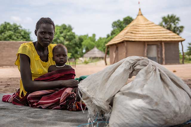 Conditions improve but over half the population of South Sudan still faces severe hunger