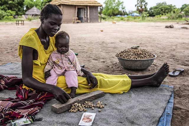 Almost half the population in South Sudan in severe acute food insecurity
