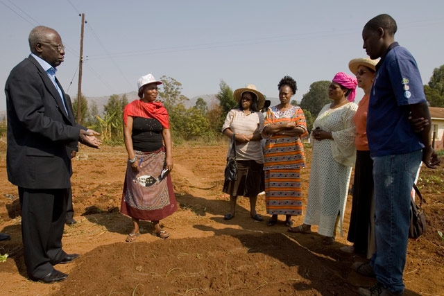 FAO Director-General in Swaziland amid food crisis