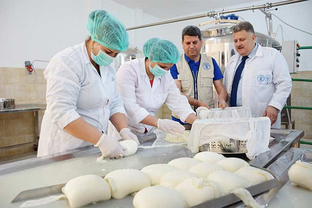 European Union supports integrated agricultural practices to boost the resilience of farmers in the Syrian Arab Republic
