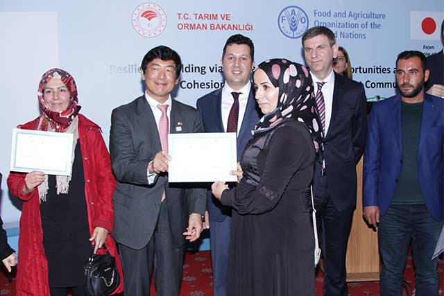 Partnering with Japan to create job opportunities in Turkey for Syrian refugees