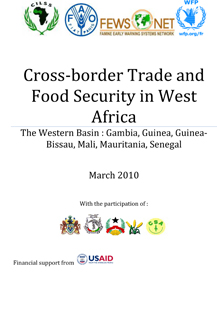 Cross-border Trade and Food Security in West Africa - The Western Basin: Gambia, Guinea, Guinea-Bissau, Mali, Mauritania, Senegal
