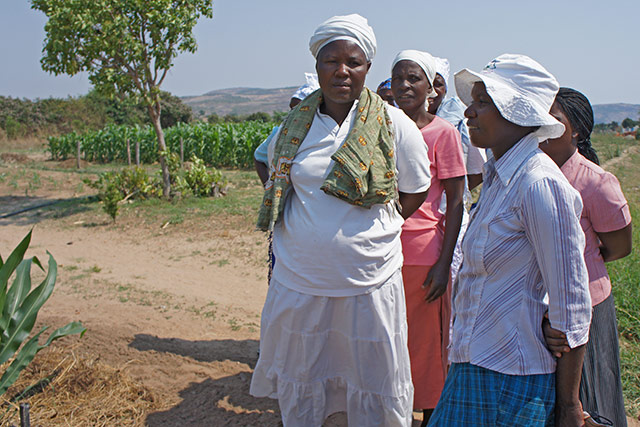 Women making a difference through community gardens