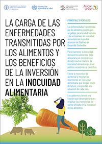 La carga de las enfermedades transmitidas por los alimentos y los beneficios de invertir en la inocuidad alimentaria